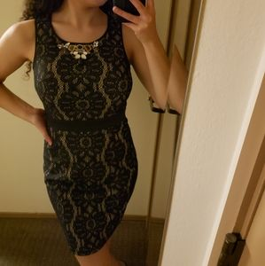 XOXO bodycon dress